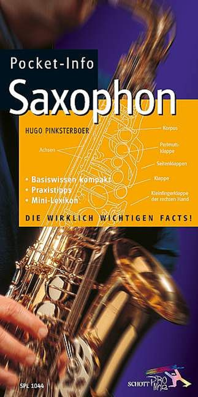 Pocket Info Saxophone