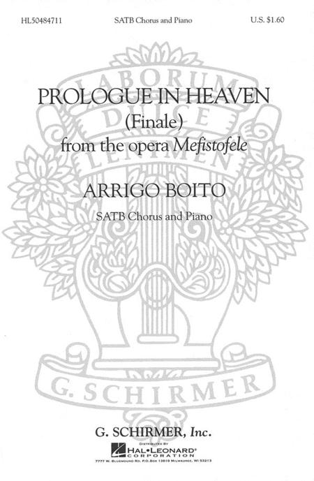Prologue in Heaven (Finale from Mefistofele)