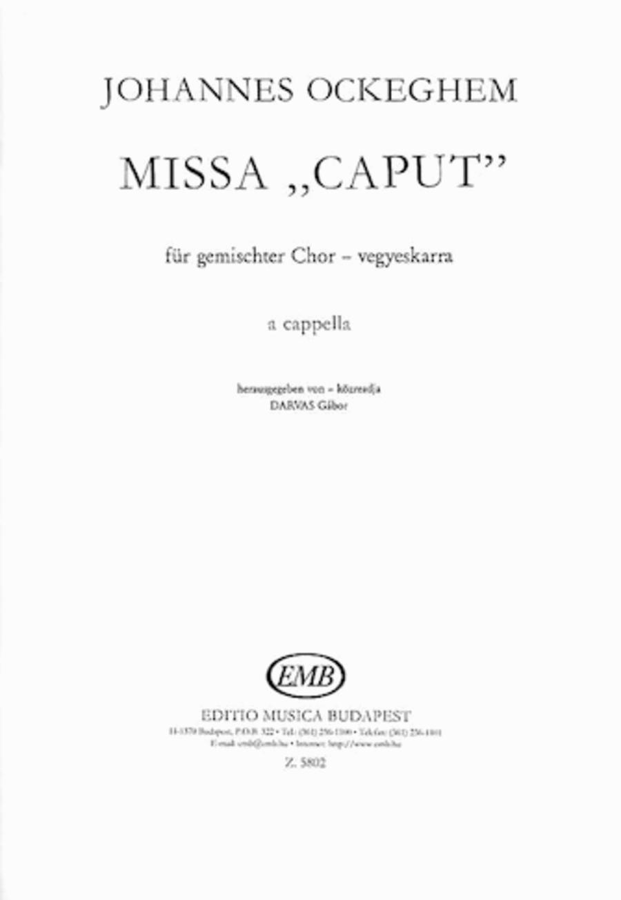Missa caput-satb