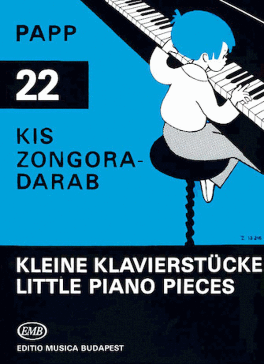 22 Little Piano Pieces