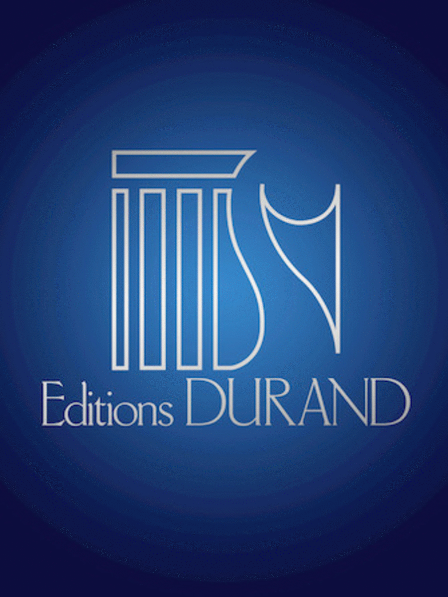 Trois Danses 1 Piano 4 Hands (orig For Orchestra) Transcr By Durufle
