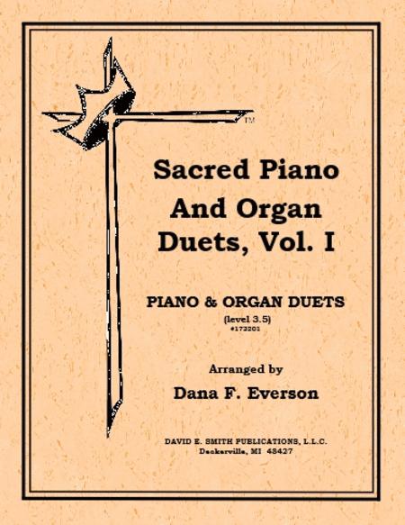Sacred Piano & Organ Duets Volume I