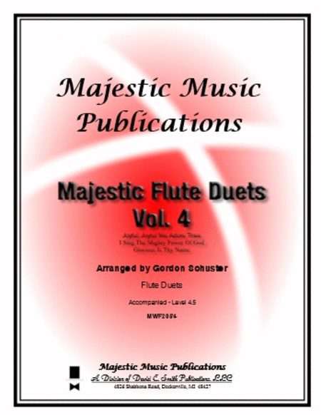 Majestic Flute Duets, Volume 4