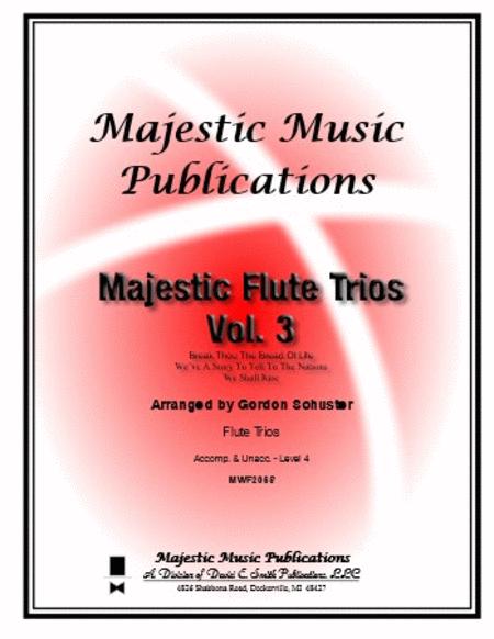 Majestic Flute Trios, Volume 3