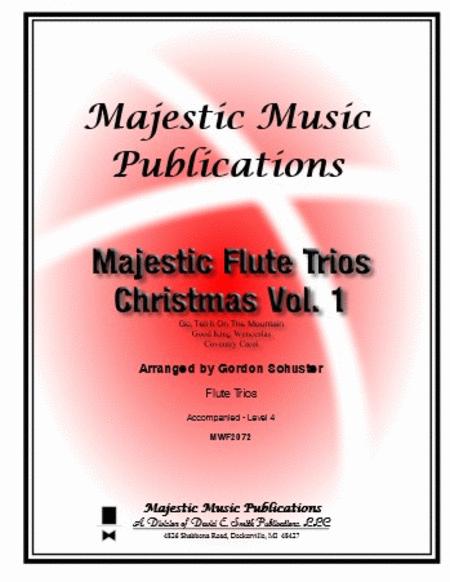 Majestic Flute Trios - Christmas, Volume 1