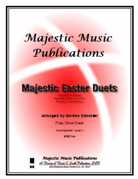 Majestic Duets - Flute/Oboe, Easter Volume 1
