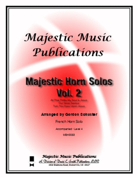 Majestic Horn Solos, Volume 2
