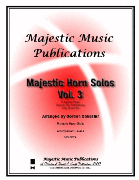Majestic Horn Solos, Volume 3