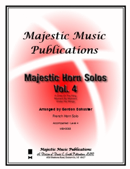 Majestic Horn Solos, Volume 4