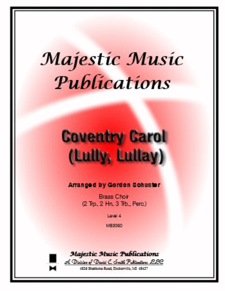 Coventry Carol (Lully, Lullay)