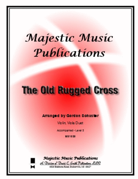 The Old Rugged Cross (violin/viola)