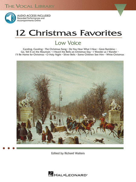 12 Christmas Favorites - Low Voice