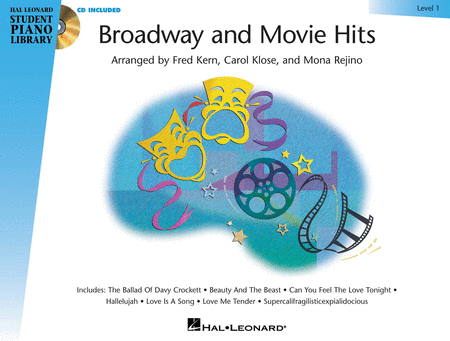 Broadway and Movie Hits - Level 1 Book/CD Pack