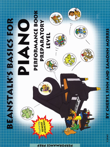 Beanstalk's Basics for Piano - Performance Book, Prep Level A & B
