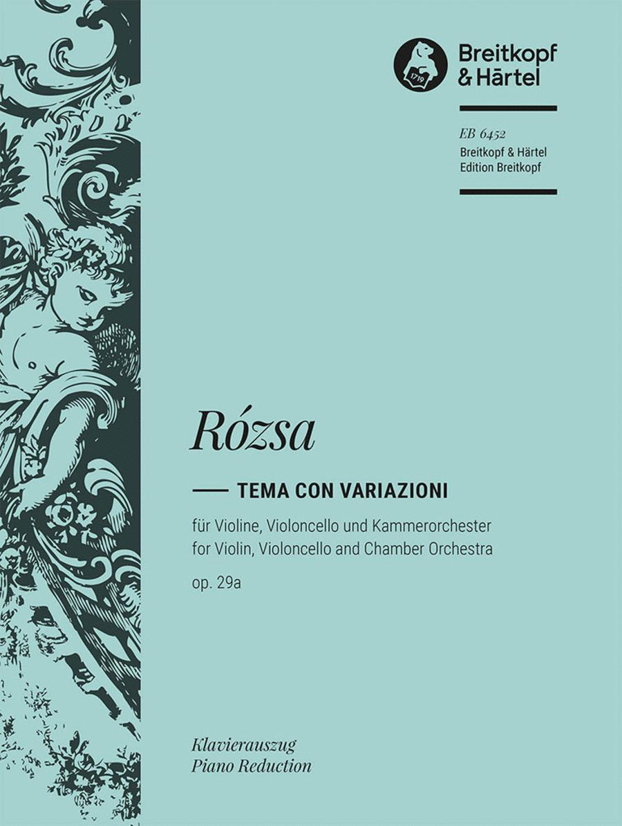 Tema con variationi op. 29a