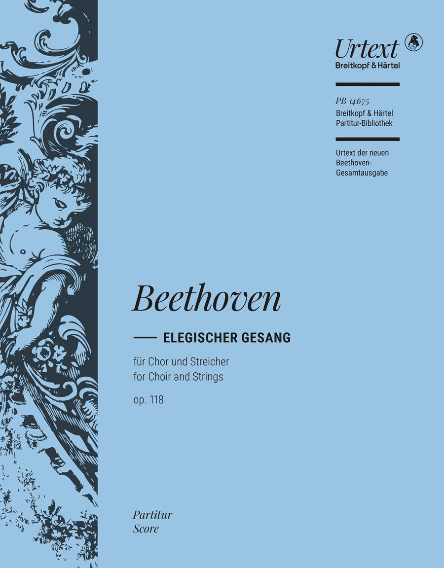 Elegischer Gesang op. 118
