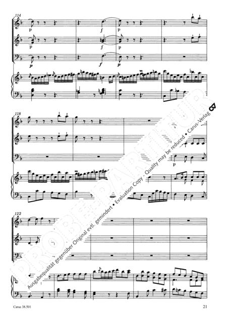 Organ Concerto in F major