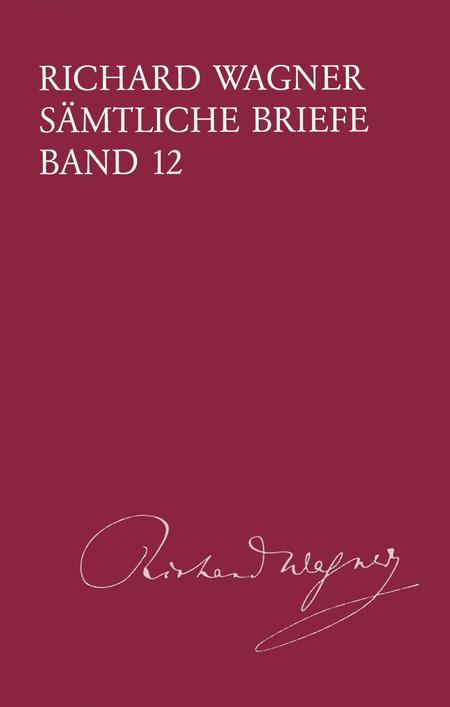 Samtliche Briefe Band 12. Briefe des Jahres 1860