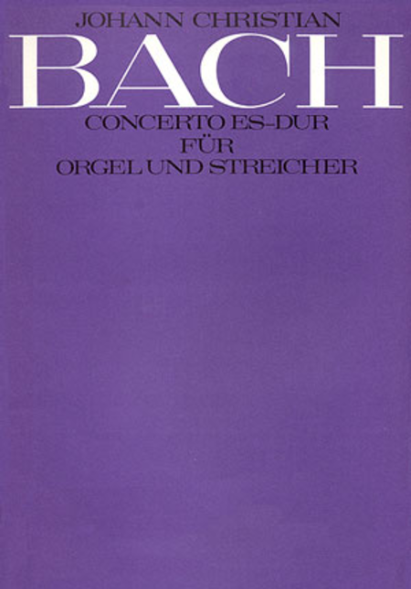 Organ Concerto in E flat major