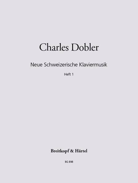 Neue Schweizer Klaviermusik 1