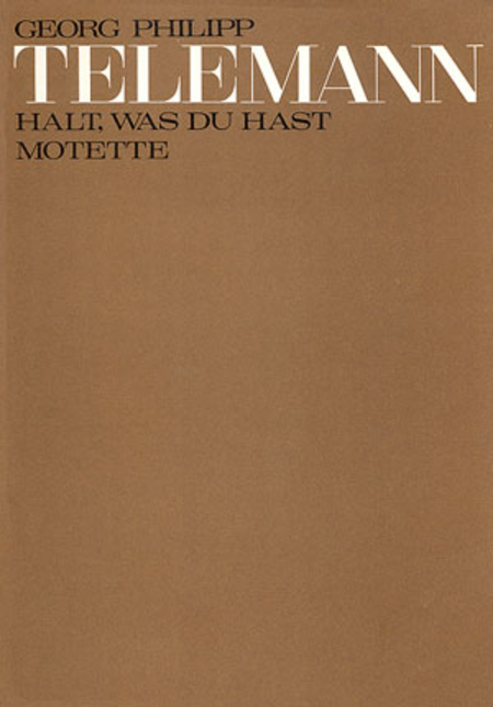 Keep what you have (Halt, was du hast)