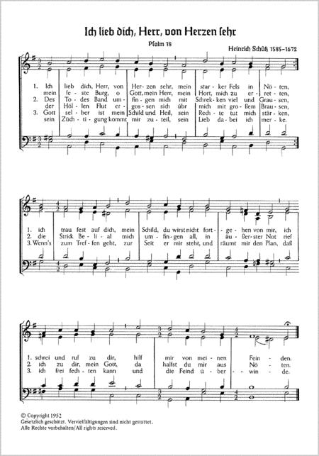 Becker-Psalter (Auswahl)