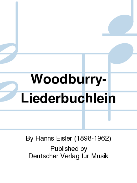 Woodburry-Liederbuchlein