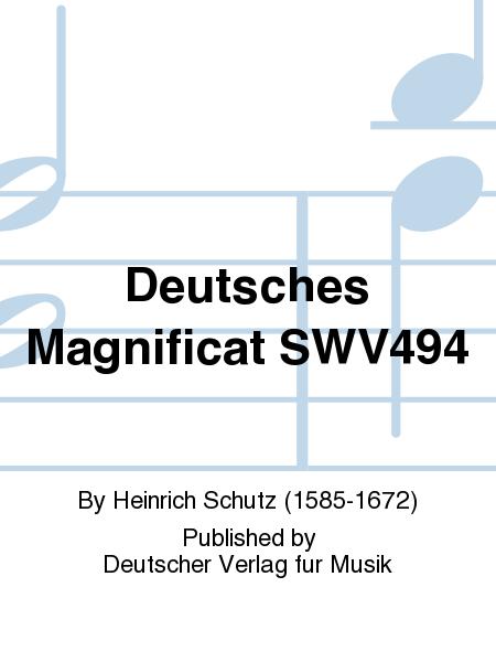 Deutsches Magnificat SWV494