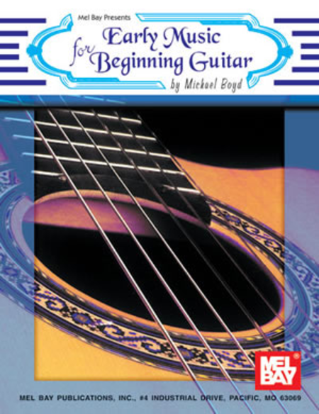Early Music for Beginning Guitar