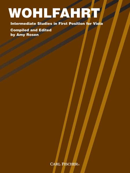 Wohlfahrt Intermediate Studies in First Position For Viola