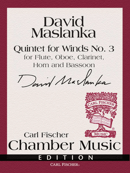 Quintet For Winds No. 3