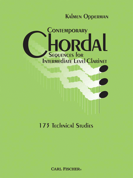Contemporary Chordal Sequences for Intermediate Clarinet