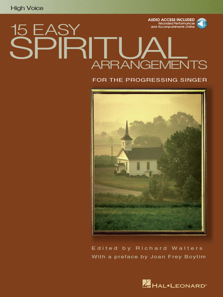 15 Easy Spiritual Arrangements for the Progressing Singer