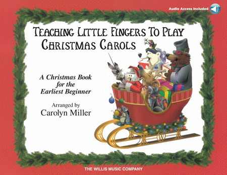 Teaching Little Fingers to Play Christmas Carols - Book/CD