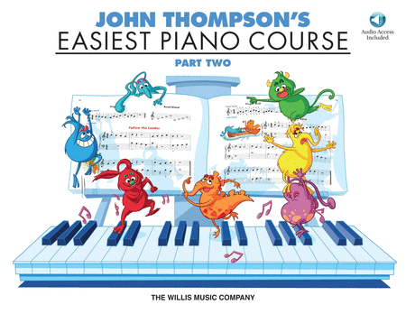 John Thompson's Easiest Piano Course - Part Two (Book/CD)
