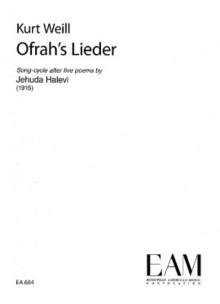 Ofrah's Lieder