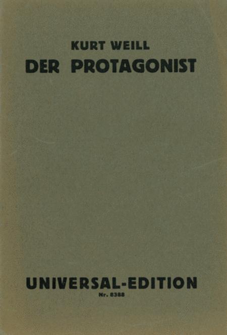 Der Protagonist, Op. 15