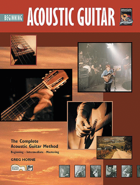 Beginning Acoustic Guitar (Book and DVD)