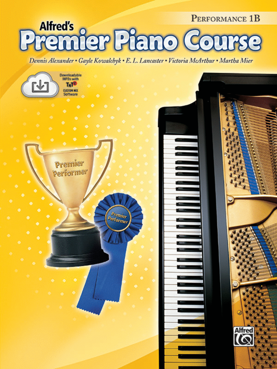 Alfred's Premier Piano Course - Level 1B (Performance Book & CD)