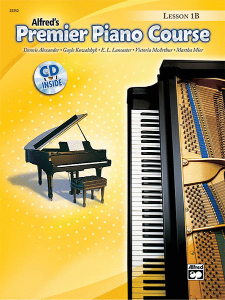 Alfred's Premier Piano Course - Level 1B (Lesson Book & CD)