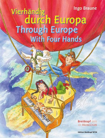 Vierhandig durch Europa