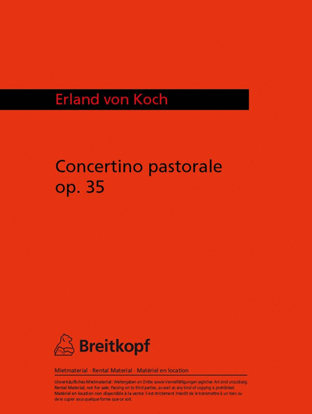 Concertino Pastorale op. 35