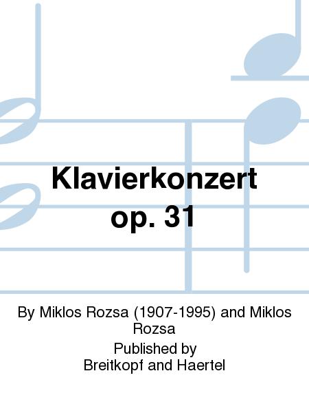 Klavierkonzert op. 31
