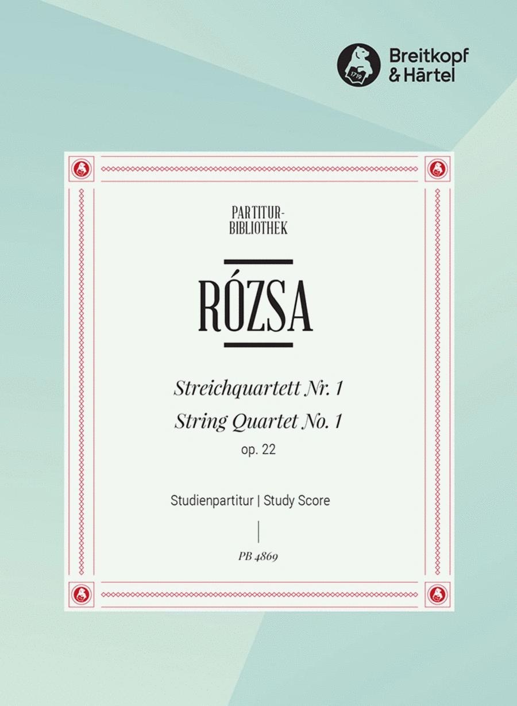 Streichquartett Nr. 1 op. 22