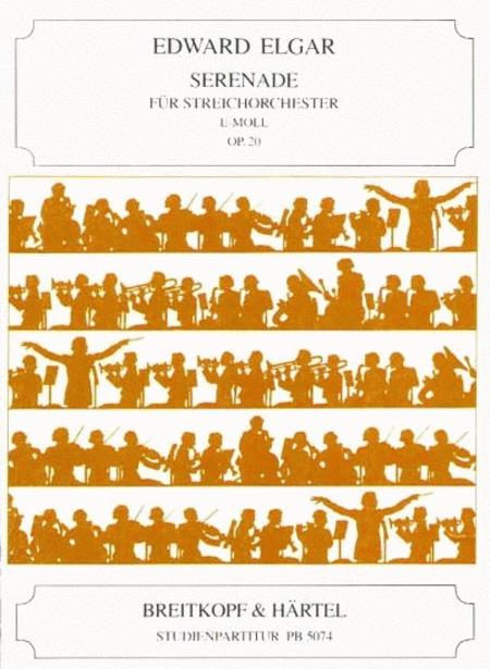 Serenade e-moll op. 20