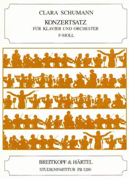 Konzertsatz f-moll