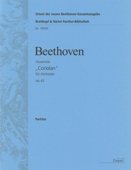 Coriolan op. 62. Ouverture