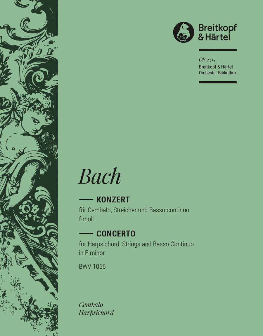Cembalokonzert f-moll BWV 1056