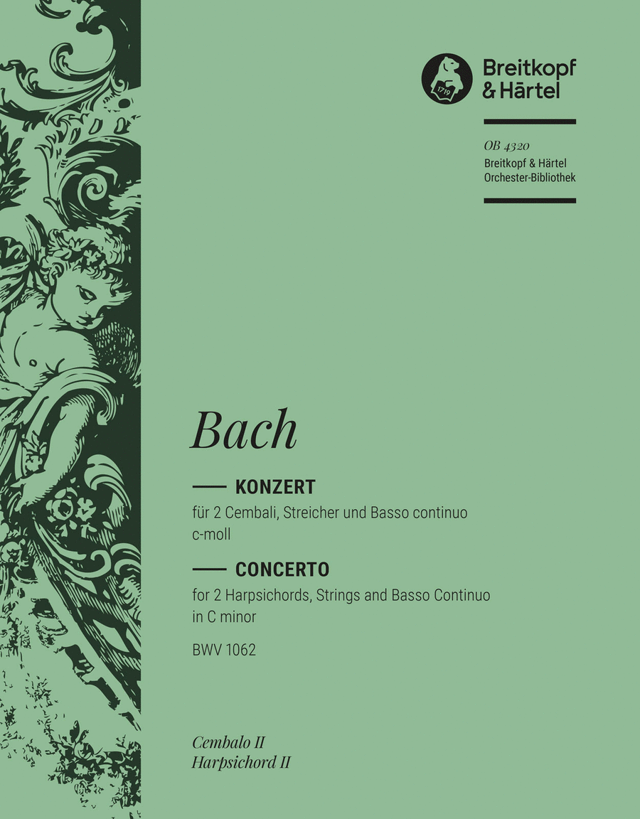Cembalokonzert c-moll BWV 1062