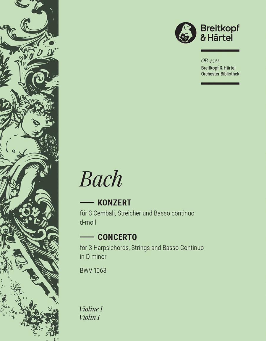Cembalokonzert d-moll BWV 1063